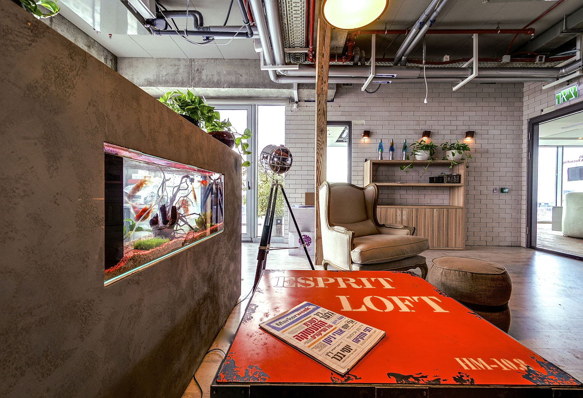 Google Tel Aviv Office Interiors IDesignArch Interior