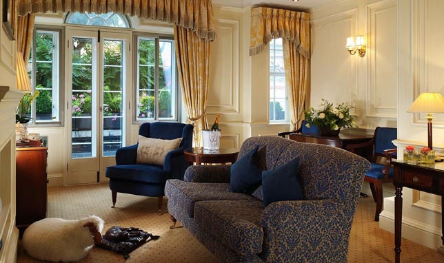 with british interior decor the goring hotel london hotel interiors