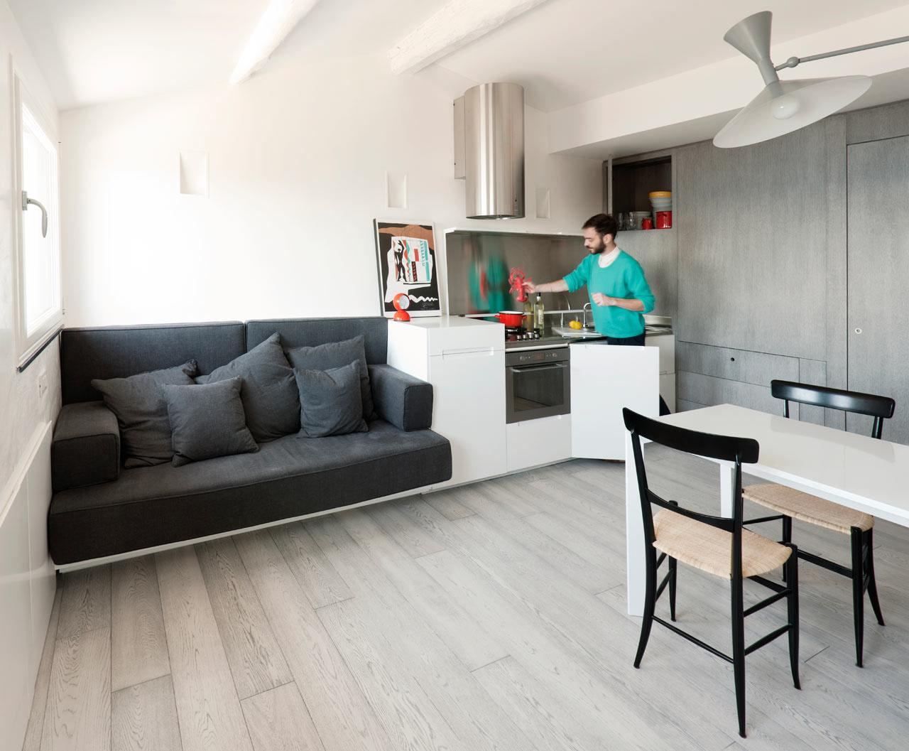 Дизайн интерьера квартиры 30 кв.м