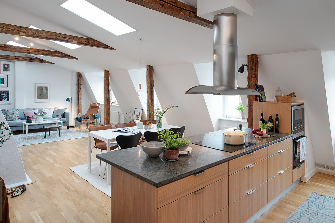 loft apartment in sweden