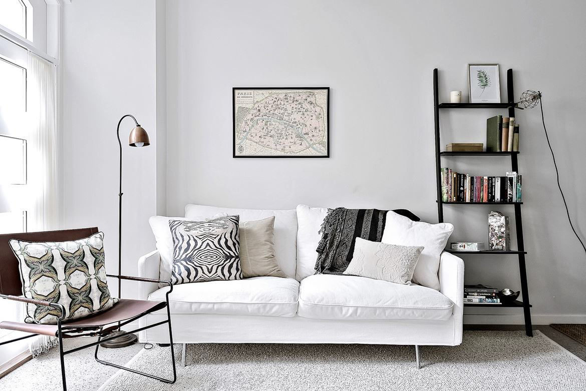 Modern Scandinavian Style Living Room Decor