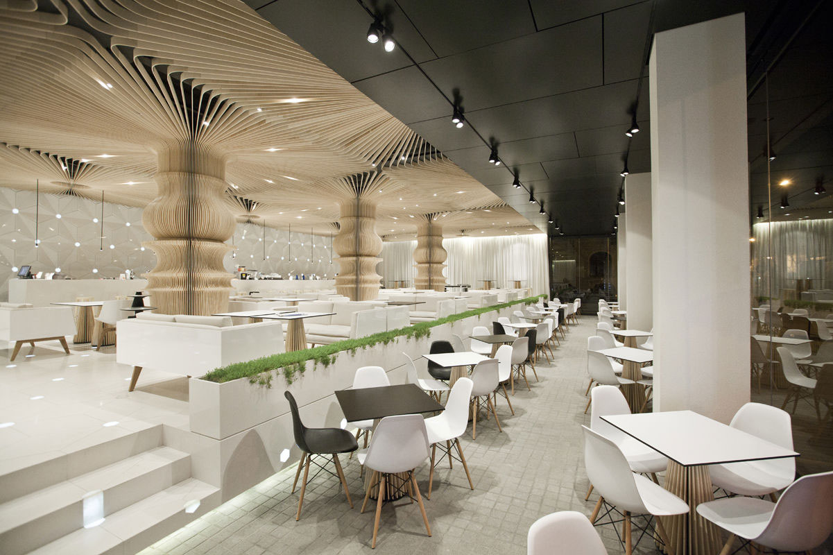 modern cafeteria design for - photo #17