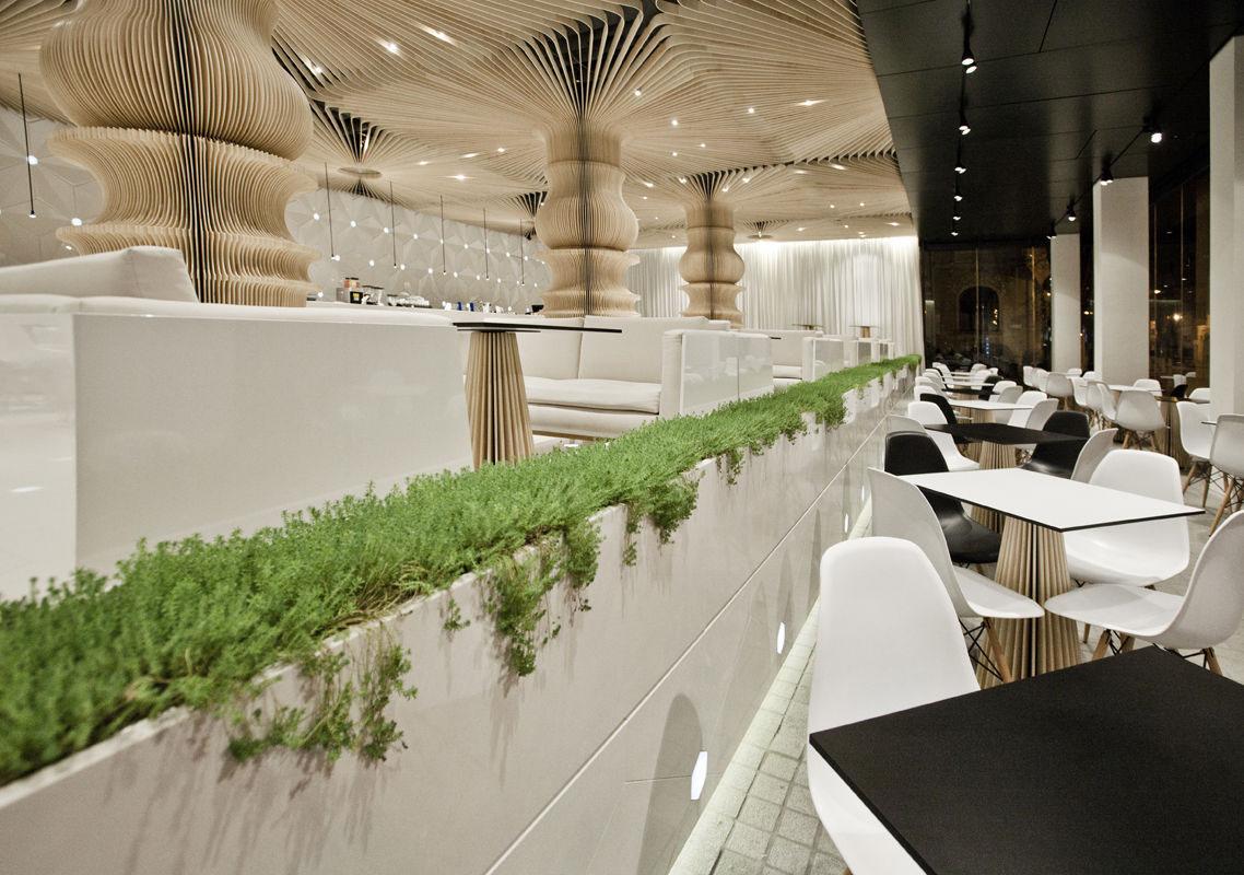 graffiti cafe's stunning restaurant interior design | idesignarch