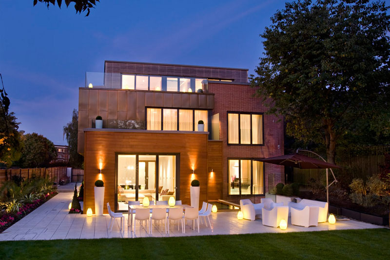 Contemporary home in london 39 s highgate idesignarch Contemporary house designs uk