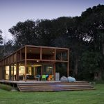 Great Barrier Island Sustainable House Surrounded By Nature