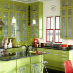 Green Modern Kitchen
