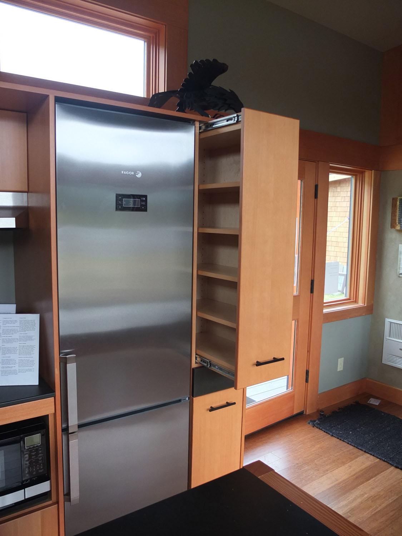 Vertical Kitchen Storage Cupboard