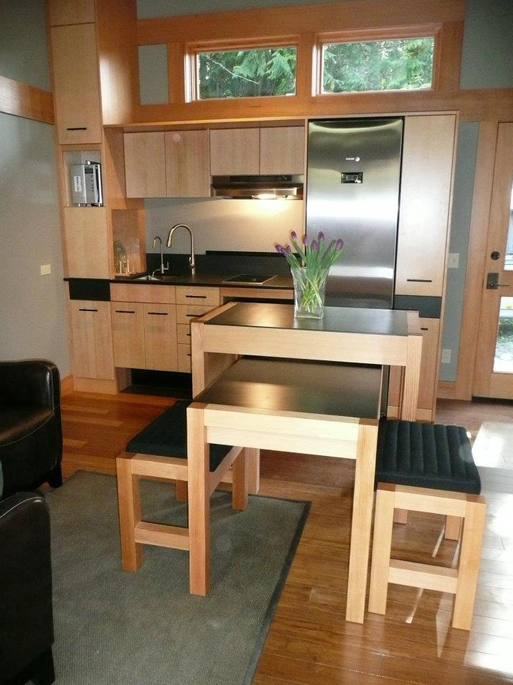 Nomad Tiny Homes >> 450 Square Foot Sustainable Prefab Eco Home | iDesignArch ...