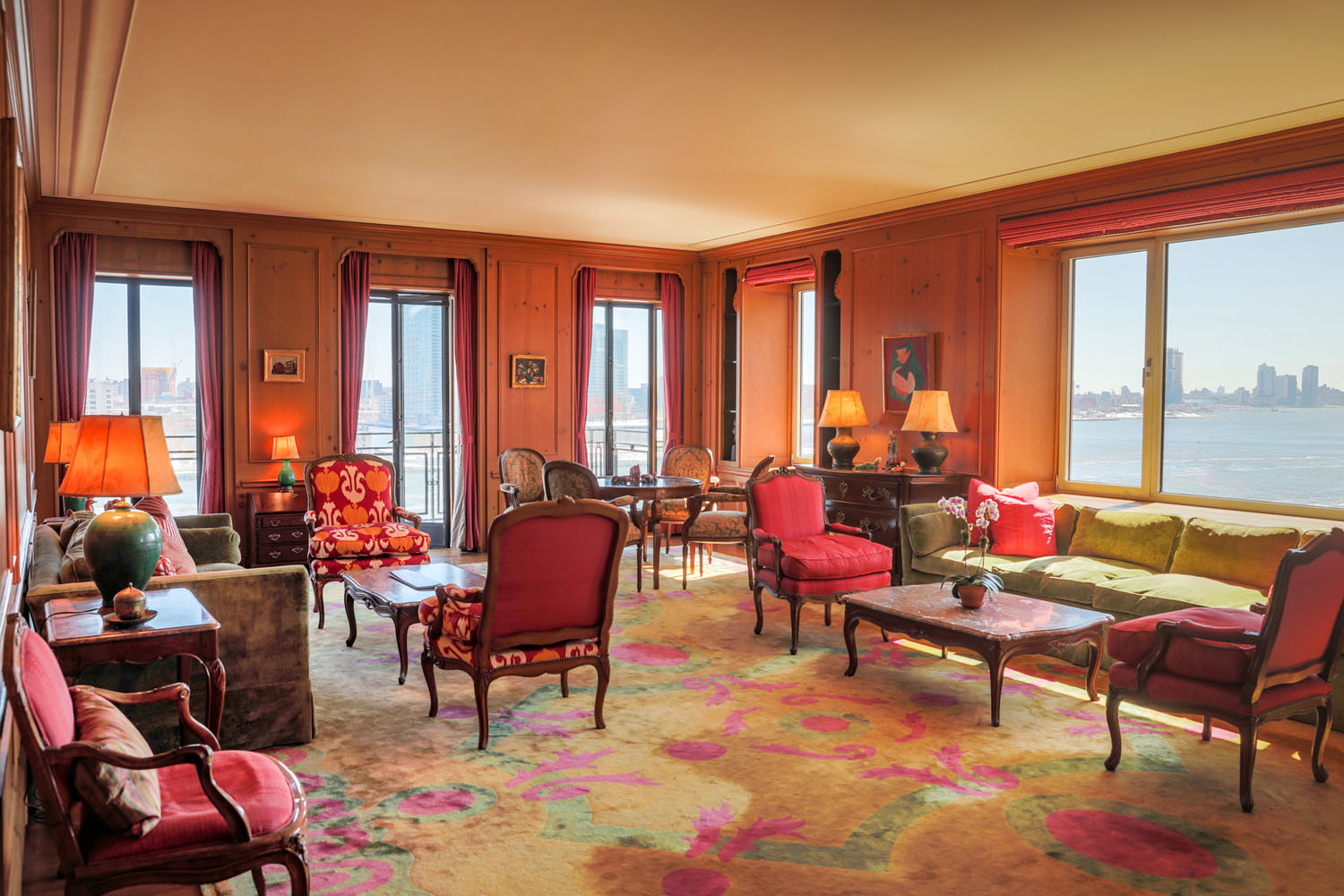 apartment inside. Legendary  Inside Greta Garbo S New York City Apartment With Views Of The East