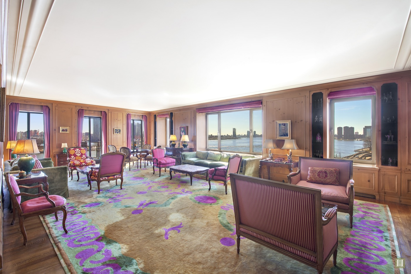 Greta Garbo's East Side Manhattan River View Apartment