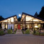 Modern Timber-Framed Minimalist Bungalow House