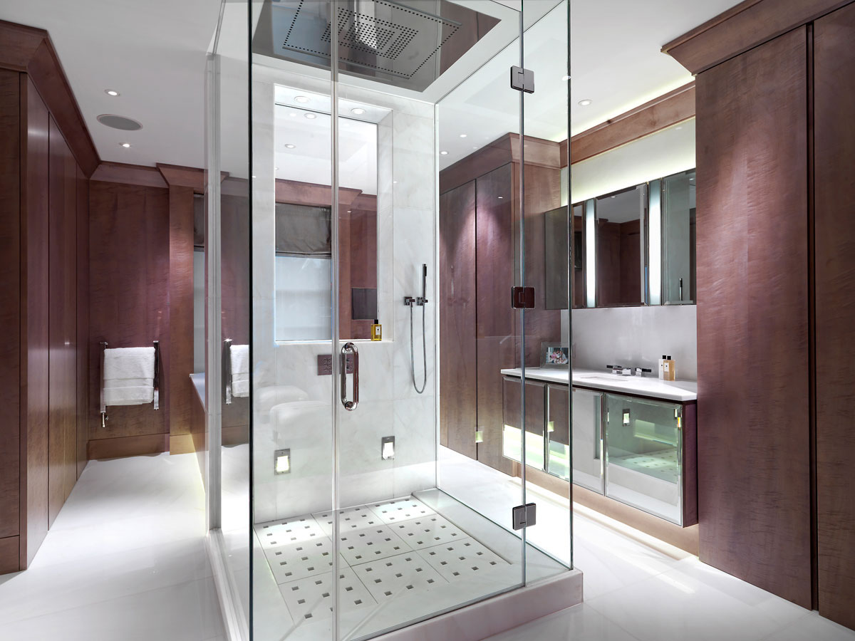Modern Steam Shower