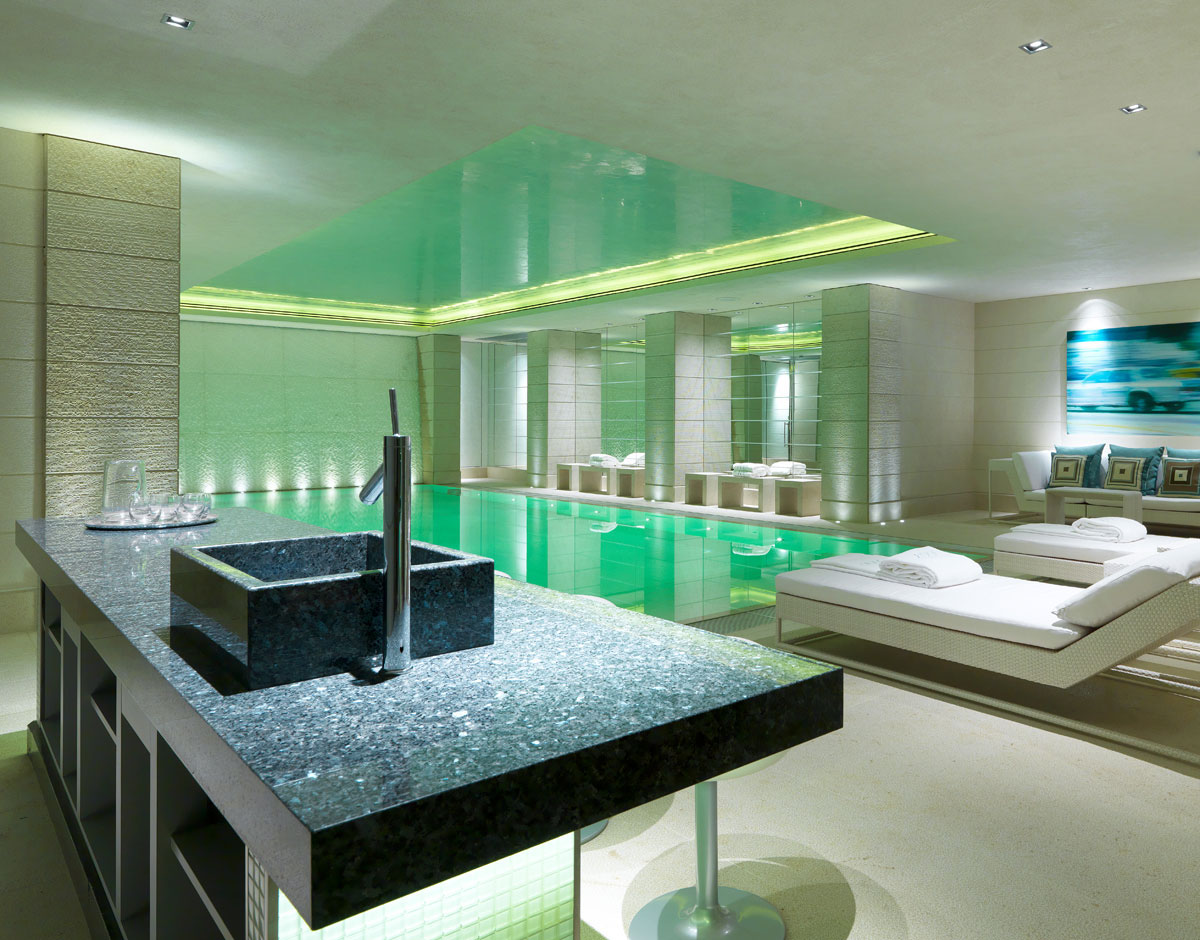 Indoor Home Spa and Pool