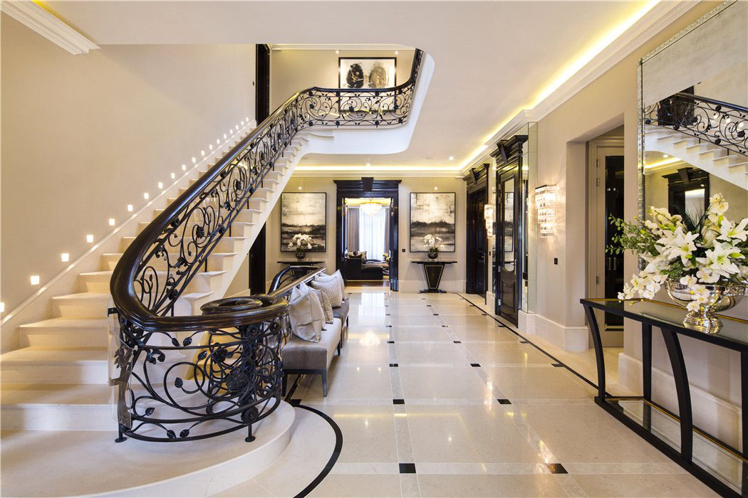 Luxury Contemporary London House Elegant English Mansion In Hampstead  iDesignArch