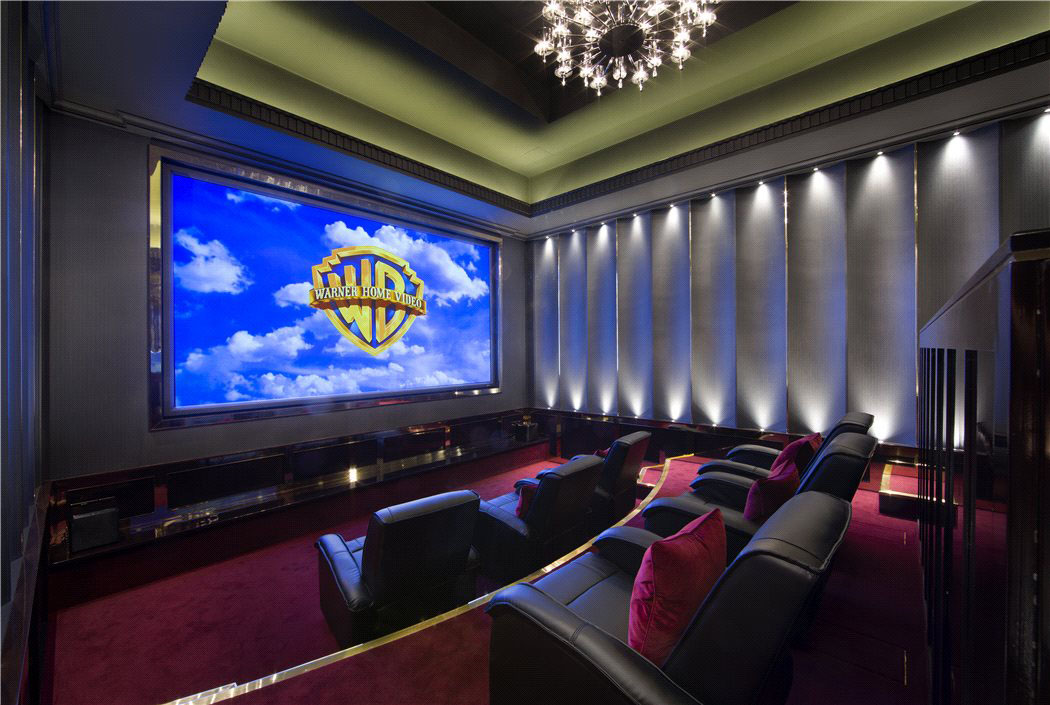 Luxury Mansion Home Cinema