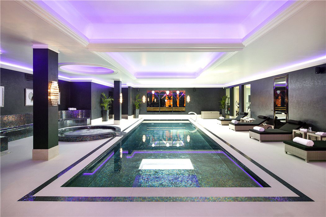 Luxury Home Basement Swimming Pool