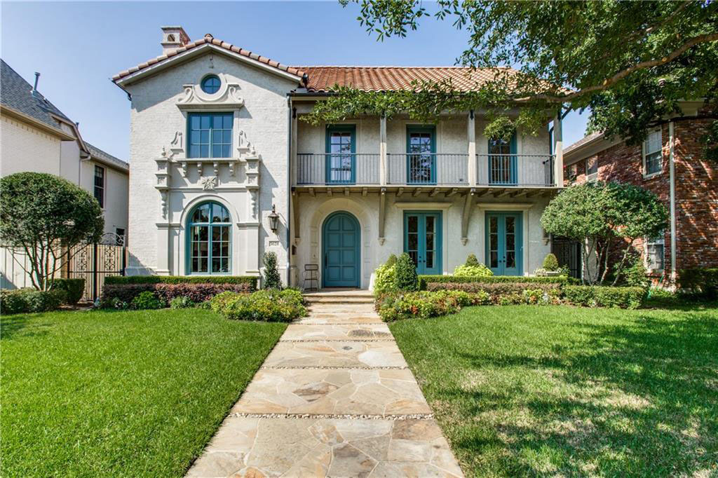 Mediterranean Style mediterranean style luxury mansion in university park