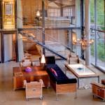 Heinz Julen Ultra-Contemporary Mountain Chalet Loft Apartment