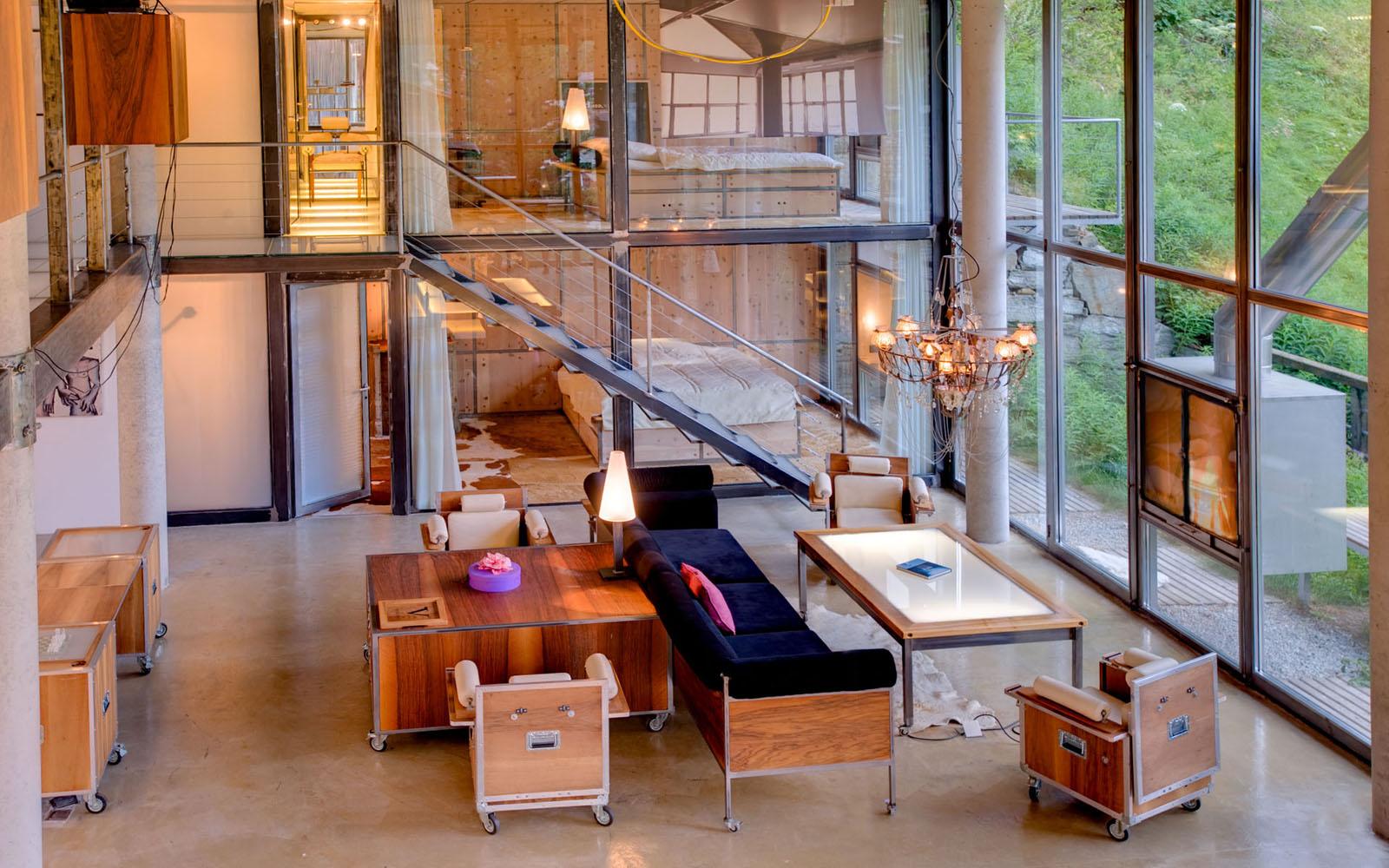 ultra modern loft in the swiss alps swiss designer - Home Designs Swiss Mountain