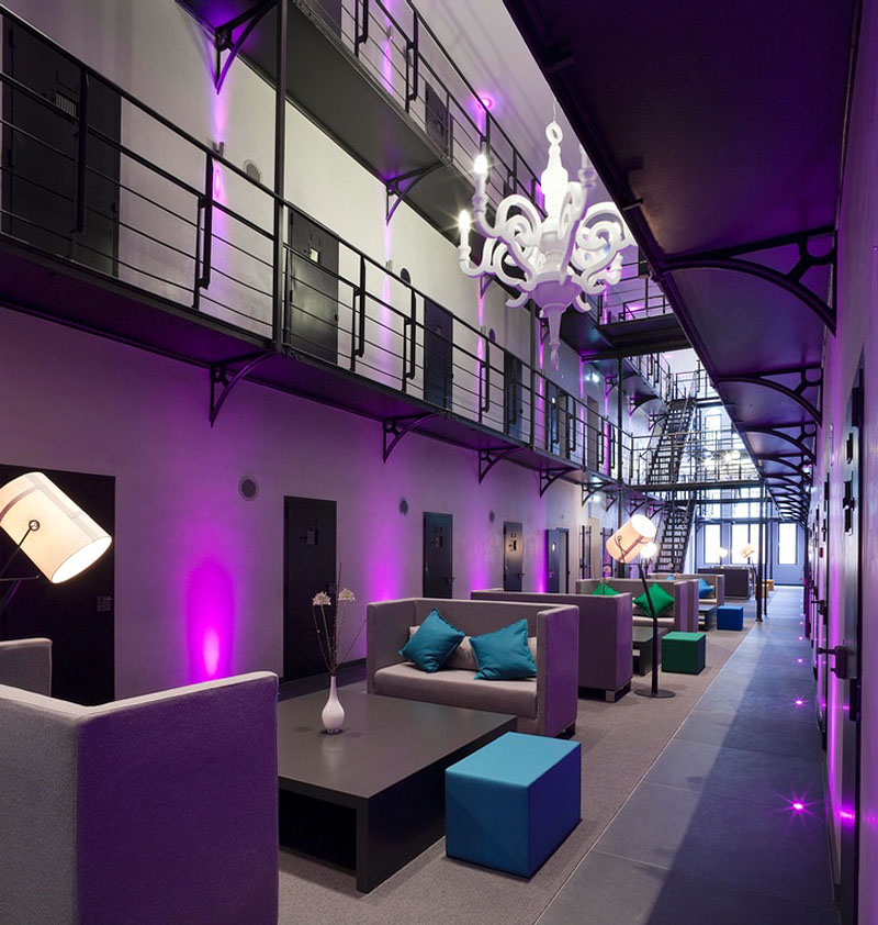 Prison Hotel · Het Arresthuis Hotel Good Ideas