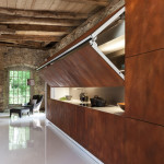 Cool Hidden Kitchen By Warendorf