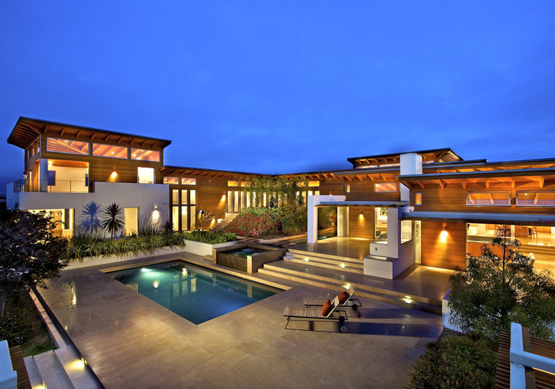 Timeless architectural estate in rancho santa fe for Top 10 luxury homes
