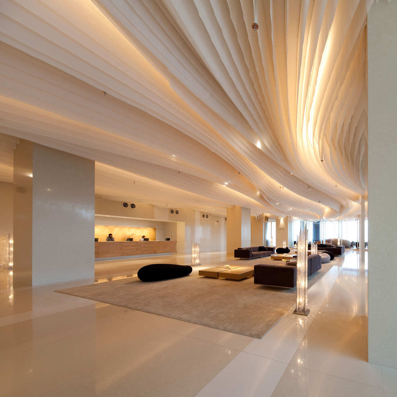 Hilton Pattaya – Floating Hotel In Thailand  iDesignArch  Interior Design ...