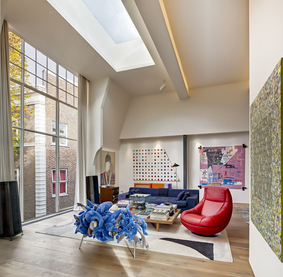 Contemporary London Home: Spectacular Holland Park Avenue Home In London
