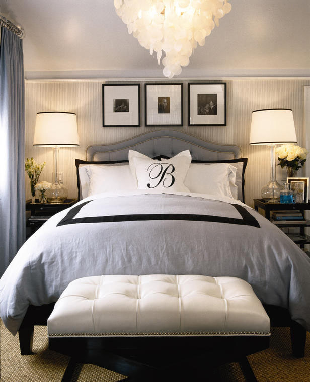 Etonnant Hollywood Regency Bedroom Design