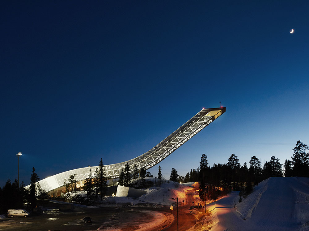 Holmenkollen Ski Jump Tower Oslo Norway