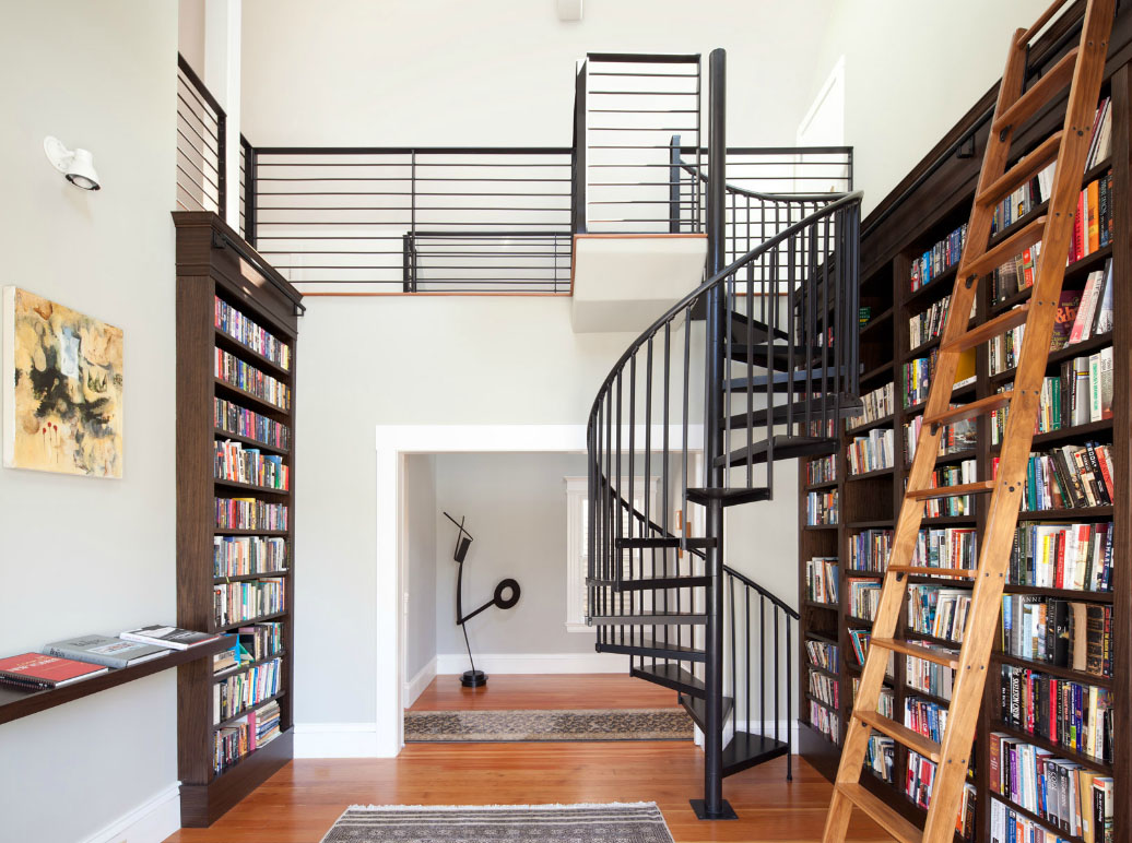 1000 Images About Interiors Home Library On Pinterest