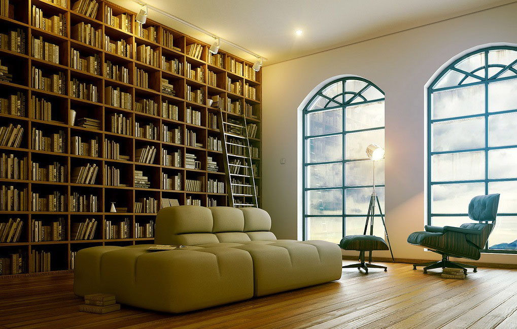 home library design ideas that might inspire to create a library of