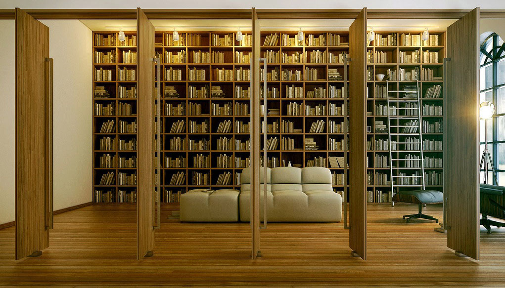 unique home libraries | idesignarch | interior design