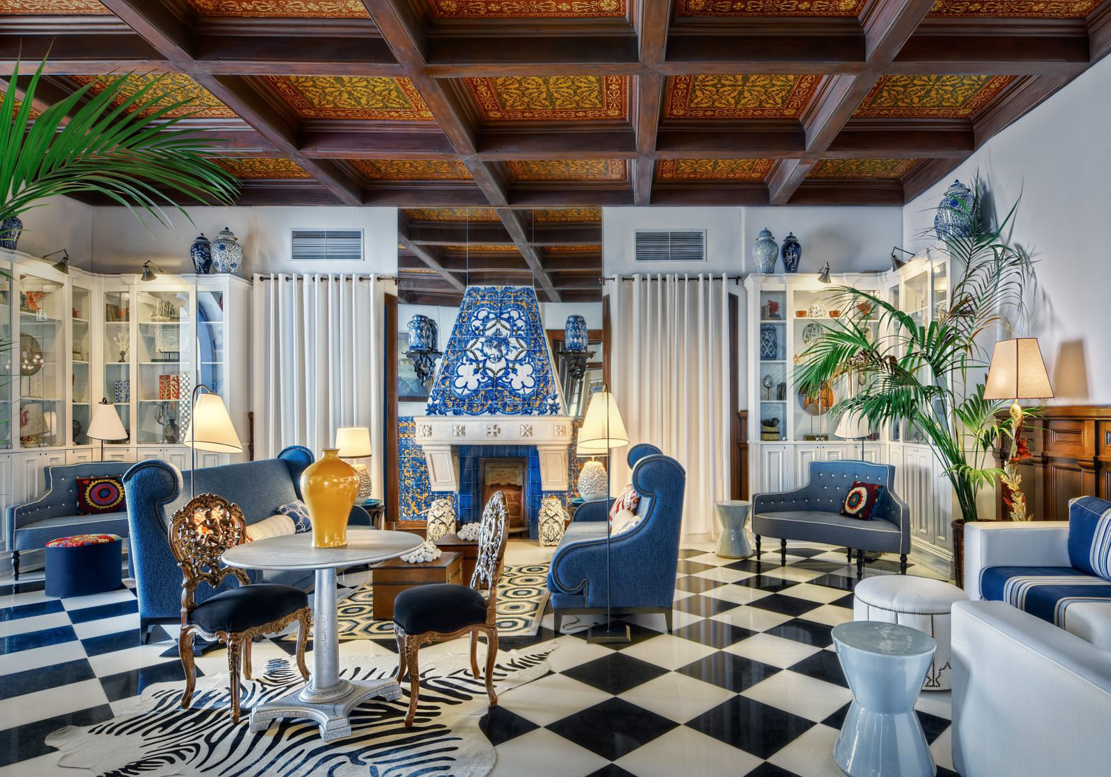 Hotel bela vista eclectic interiors idesignarch for Eclectic hotels