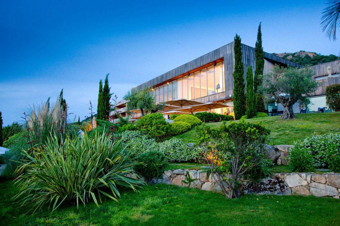 Lush Mediterranean Landscaped Gardens