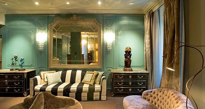 Castille Paris Elegant Redecoration Of An 18th Century