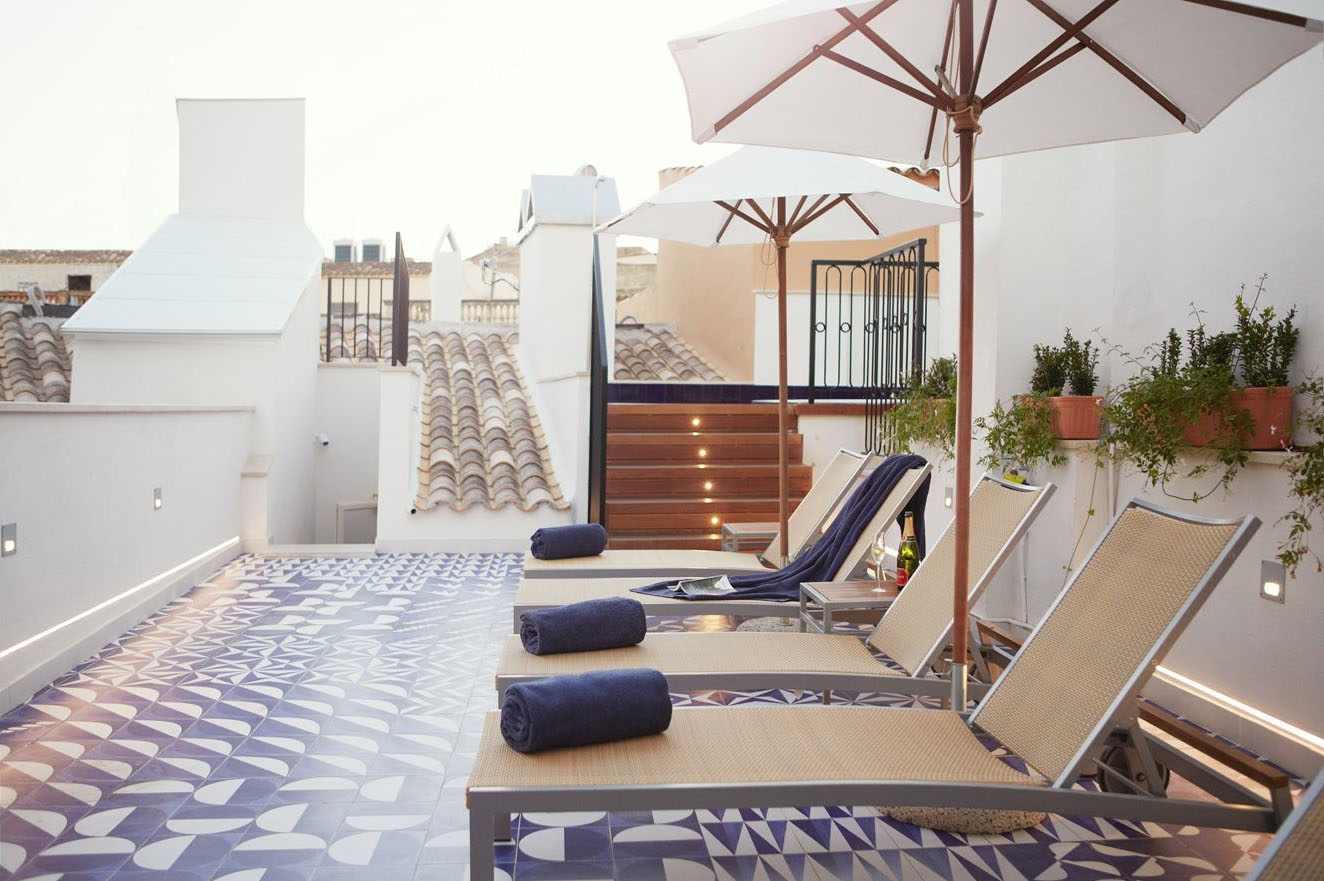 Urban chic with island influence at hotel cort in palma de Hotel palma de mallorca