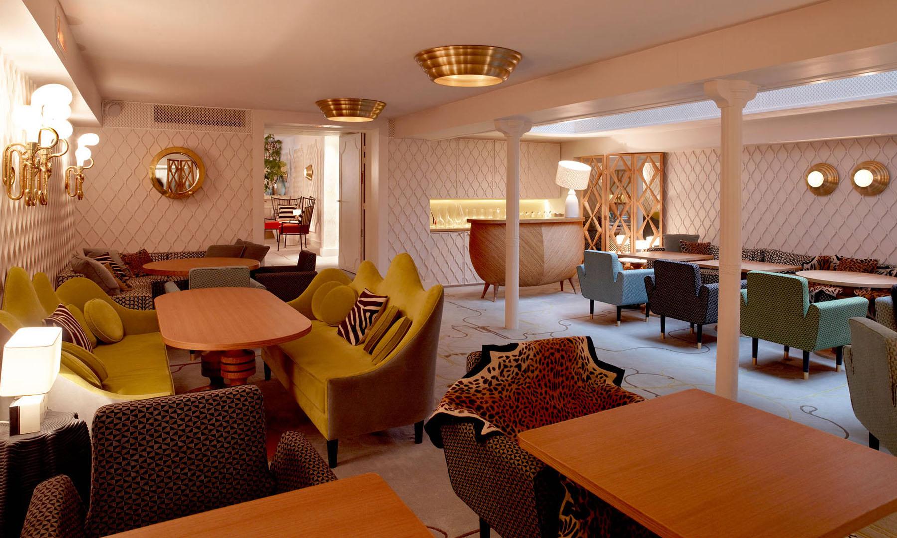 French Art Deco Interior Design By India Mahdavi At Hotel ...