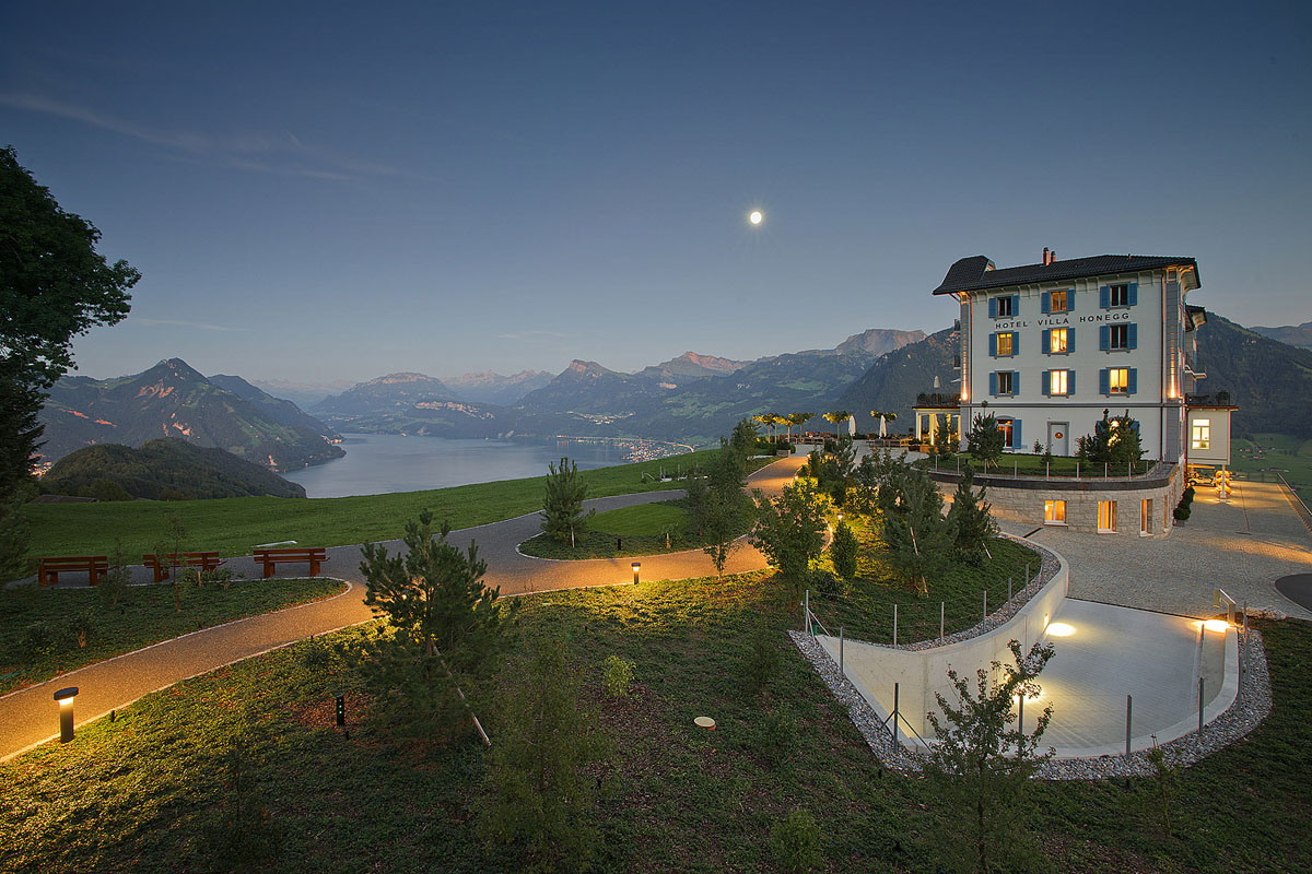 Swiss mountain paradise at hotel villa honegg for Hotel design schweiz