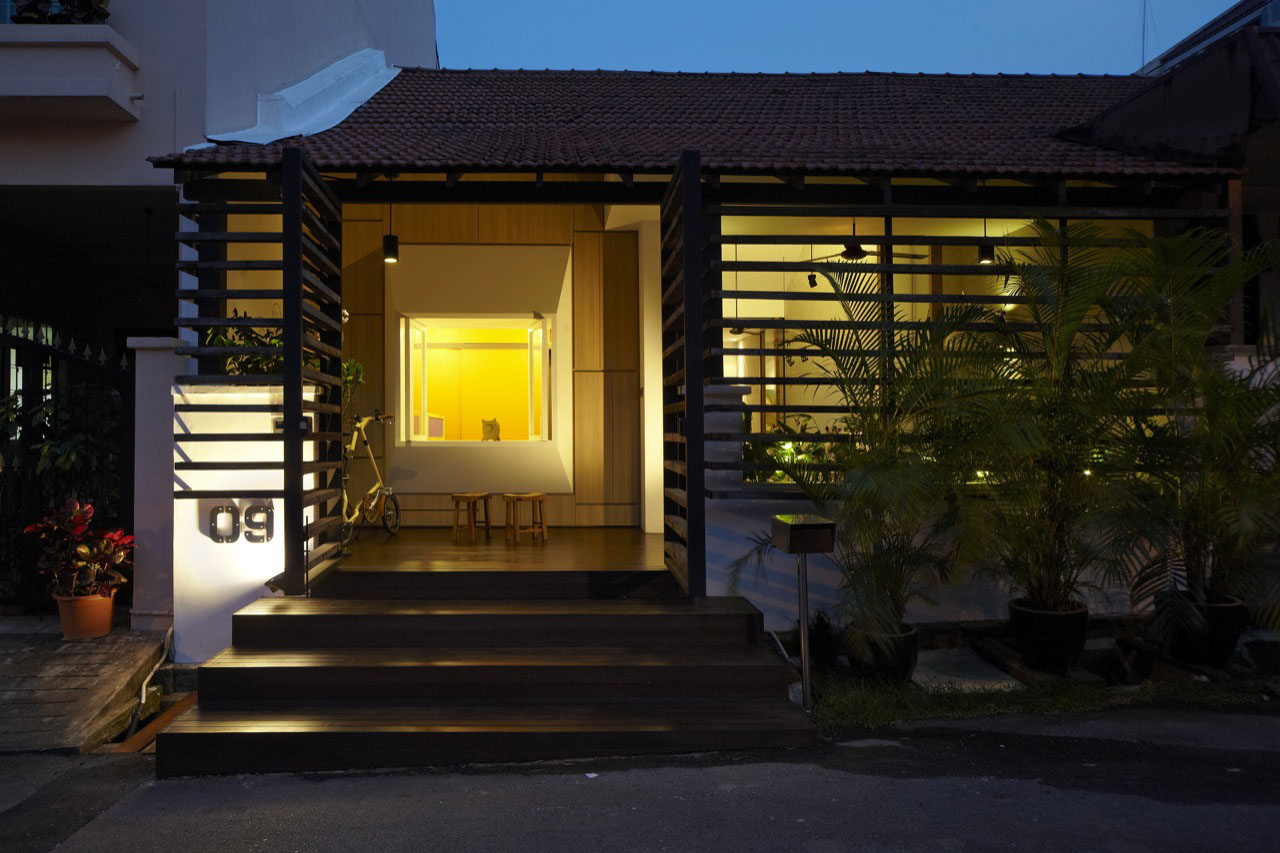 Design For Small House: Small House With Big Idea In Singapore
