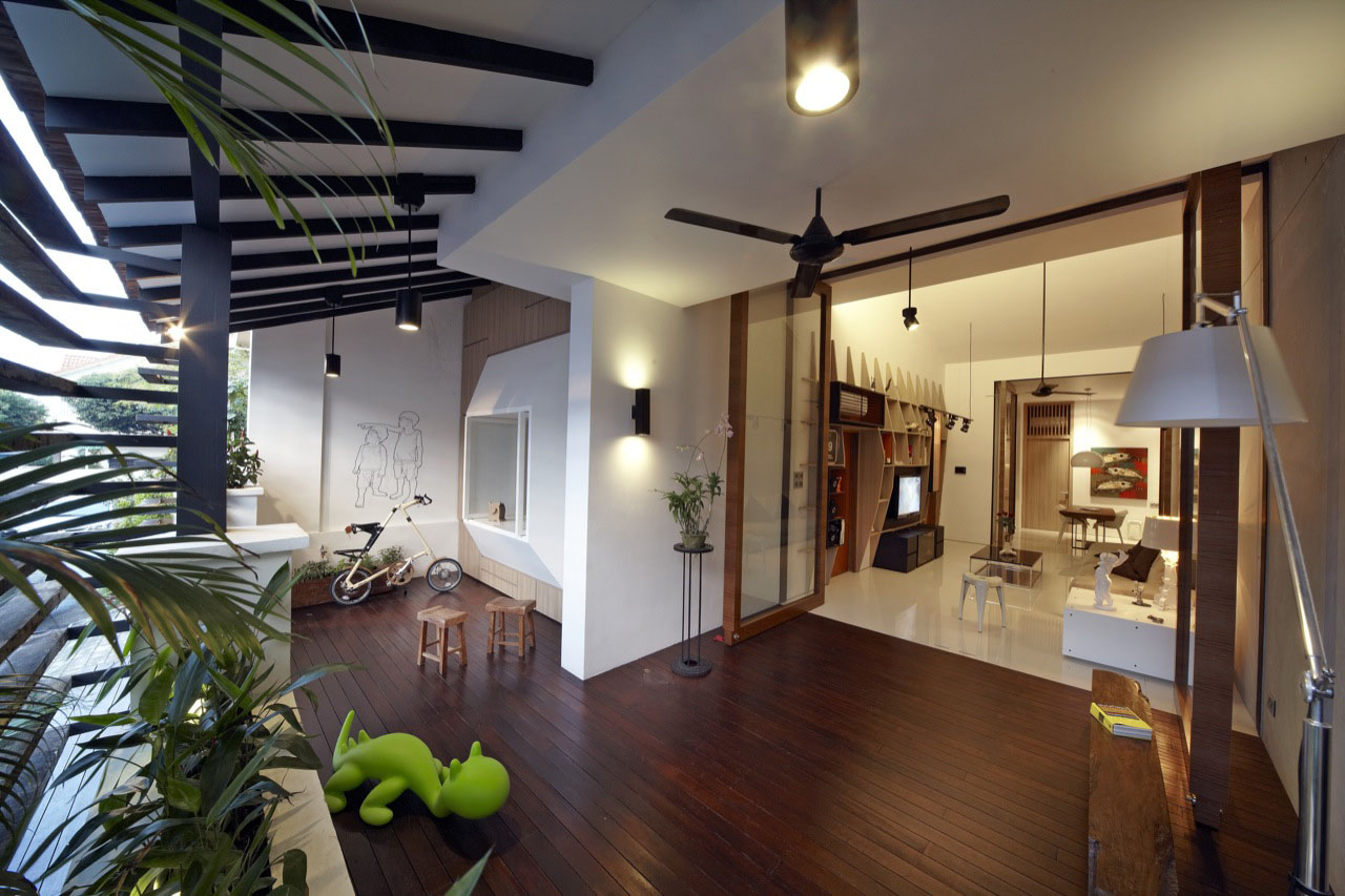 Small house with big idea in singapore idesignarch for Home interior design singapore