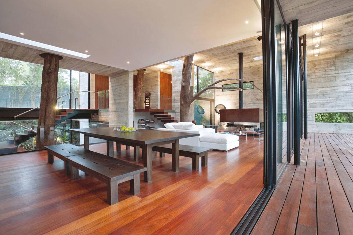 trees interior design home - photo #22