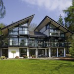 Sustainable Post And Beam Prefab Chic Modern Home By Huf Haus