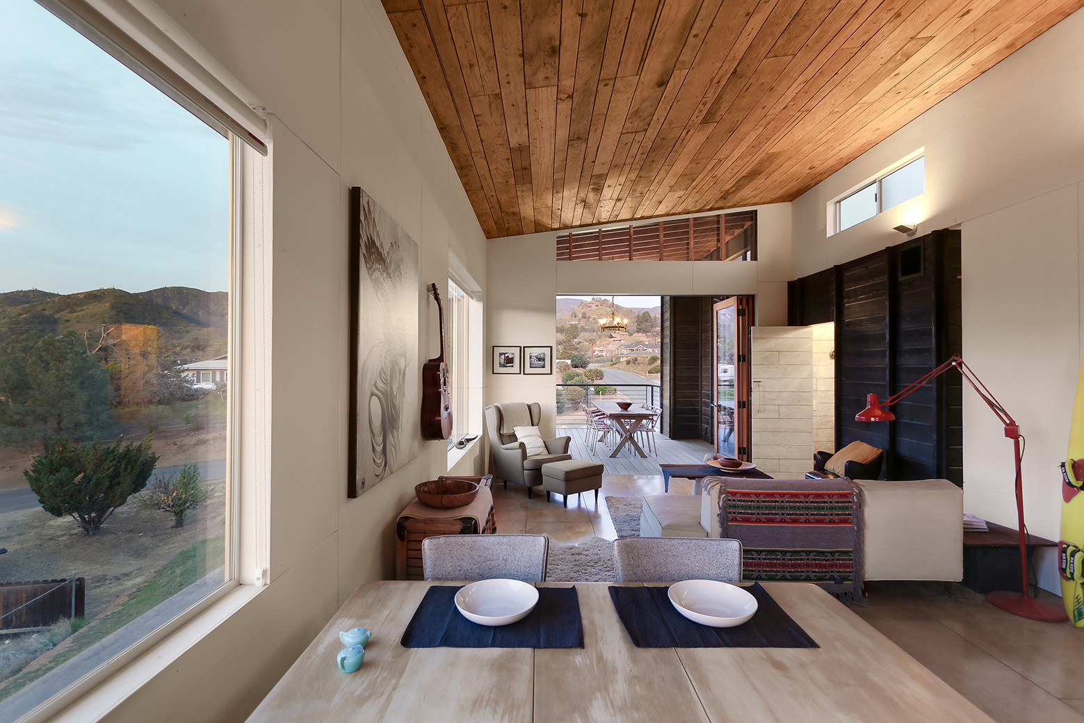 Highly crafted modern desert cabin idesignarch for California contemporary interior design