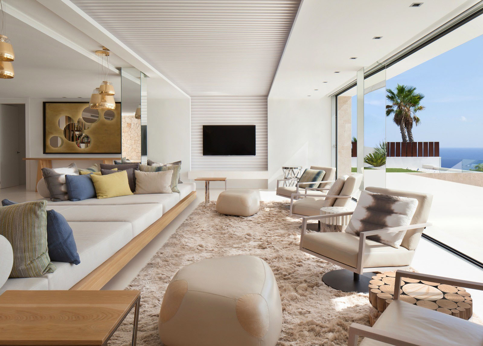 Modern Luxury Mediterranean Home Interior