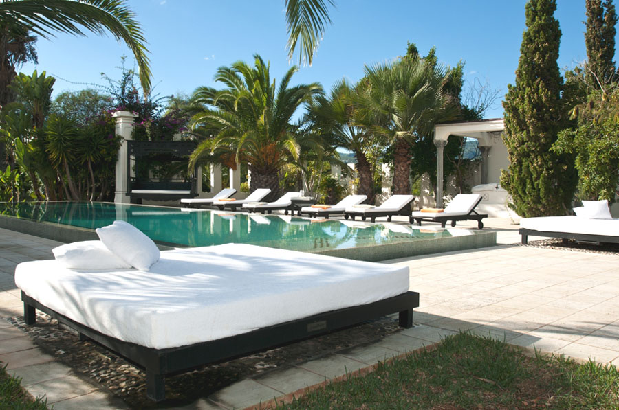 Ibiza Spain Luxury Villa  Mediterranean Villa Outdoor Entertainment Patio