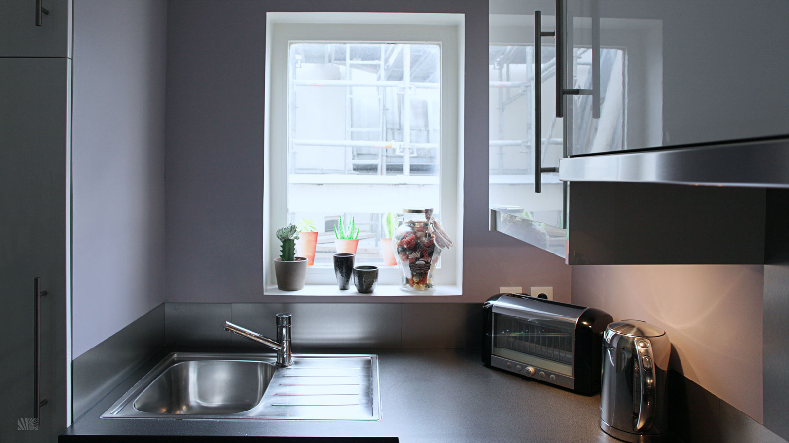 Stylish ikea kitchen for small space - Small spaces ikea photos ...