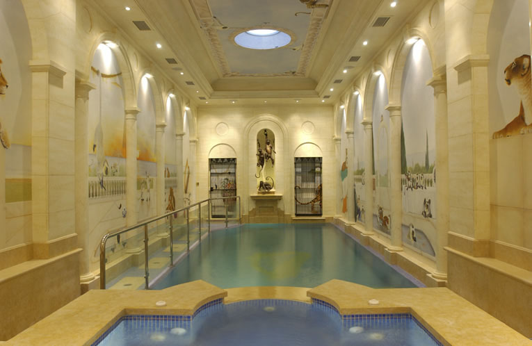 Indoor Swimming Pools With Classical Design | iDesignArch | Interior ...
