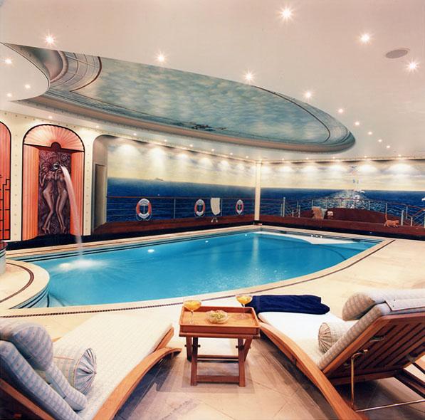 Indoor Swimming Pool Murals