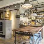 Newly Renovated Industrial Duplex Apartment With Retro Flavor